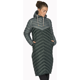 Varg Sarek Manteau long à capuche Femme, green mix